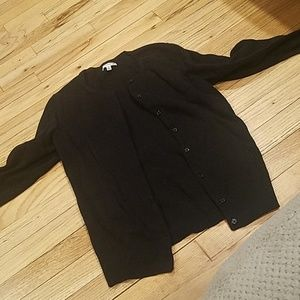 Like new croft & barrow black cardigan